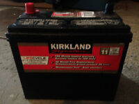 battery used to be on a honda civic 2000 Ex 1.4L V4  good as new