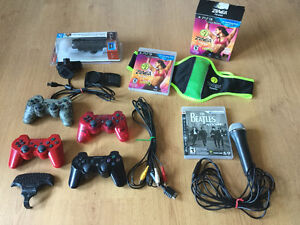 Articles divers Ps3-Ps Move-Manettes-Zumba etc..