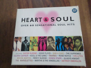 "Coffret ""Heart & Soul"" 4 cd"