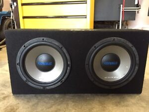 12in Subs in Ported Box & Amp