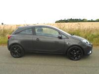 2016 VAUXHALL CORSA 1.4 i ECOFLEX SRi 3DR GREY - £30 TAX - IDEAL 1ST CAR