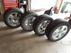 Goodyear Eagle Tires with Rims!