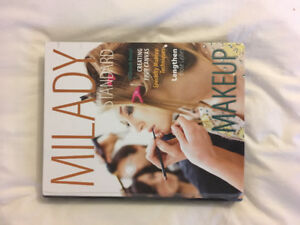 Milady makeup textbook from 2017