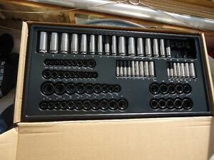 82 Brand New Universal Sockets, 1/4, 3/8, and 1/2 Drive