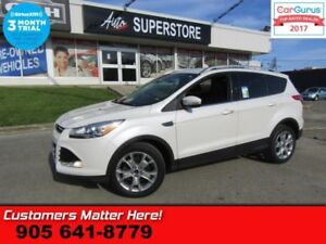 2015 Ford Escape Titanium  4X4 NAV BS CAM PREM-AUDIO HS 2X-P/SEA