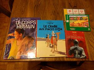 Lot de livres pour jeune