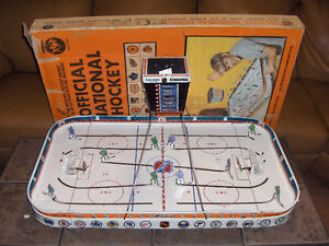 WANTED: VINTAGE NHL TIN TABLE TOP HOCKEY GAME