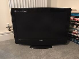 Bush 23inch TV with integrated DVD player
