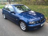 BMW 316 1.8 ti SE Compact 12 MONTHS MOT + 1 OWNER FROM NEW