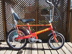 raleigh chopper mark 3 antique