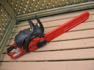 Jonsered CS 2250S chainsaw  chain saw ONLY CUT DOWN ONE TREE!