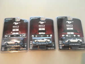 1/64 GreenLight Mustangs 50 Years