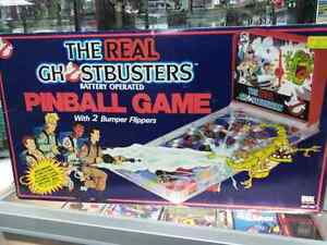 Vintage The Real Ghostbusters Battery Operated Pinball Game With