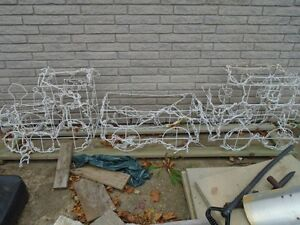 Outdoor Christmas Trains