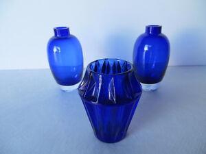 Dark Blue Mini Vases