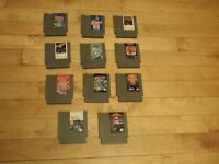 Nintendo(NES) games Double Dragon III ,Super Mario Bros 3(SOLD)