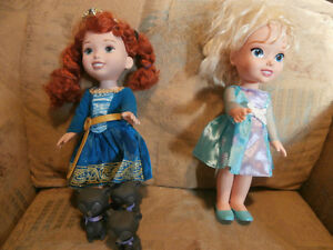 Dolls- Elsa and Brave (plus Bear Brothers)