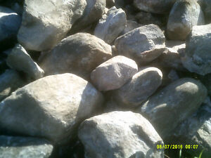 LARGE ROCKS AND BOULDERS FROM A BARN FOUNDATION Peterborough Peterborough Area image 1