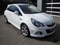 2014 Vauxhall Corsa 1.6 i Turbo 16v VXR 3dr Petrol white Manual