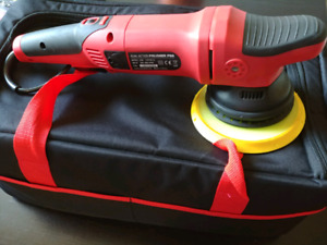 PNew! Professional 21mm throw Dual Action Polisher,buffer,waxing