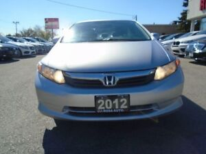2012 Honda Civic LX AUX NO ACCIDENTS 4 NEW TIRES  SAFETY E TEST