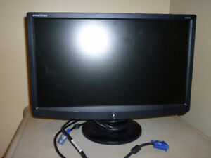 Surround sound system and 19inch LCD eMachines monitor