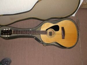 1975 Yamaha FG-75-1 Accoustic Guitar and Case for sale