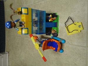 Mega Bloks Diego Set With Helicopter set by Fisher Price
