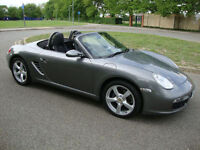 Porsche Boxster 2.7 2008 58 PCM+NAV+LEATHER, 62K FSH,