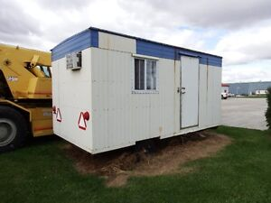Used Construction Site Trailer 8' x 16'