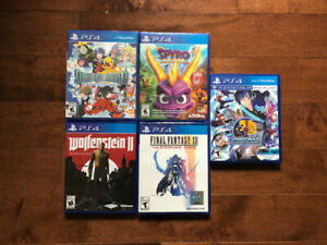 PS4 Games (Some Sealed)