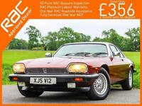 1991 Jaguar XJ-S 5.3 V12 Auto Very Good Condition 100% Original Full Leather Hea