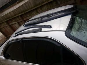 99 00 honda civic/ acura el rain guards and rear window visor