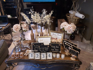 Wedding in a box! Shabby Chic - Gold/Lace/Pearl