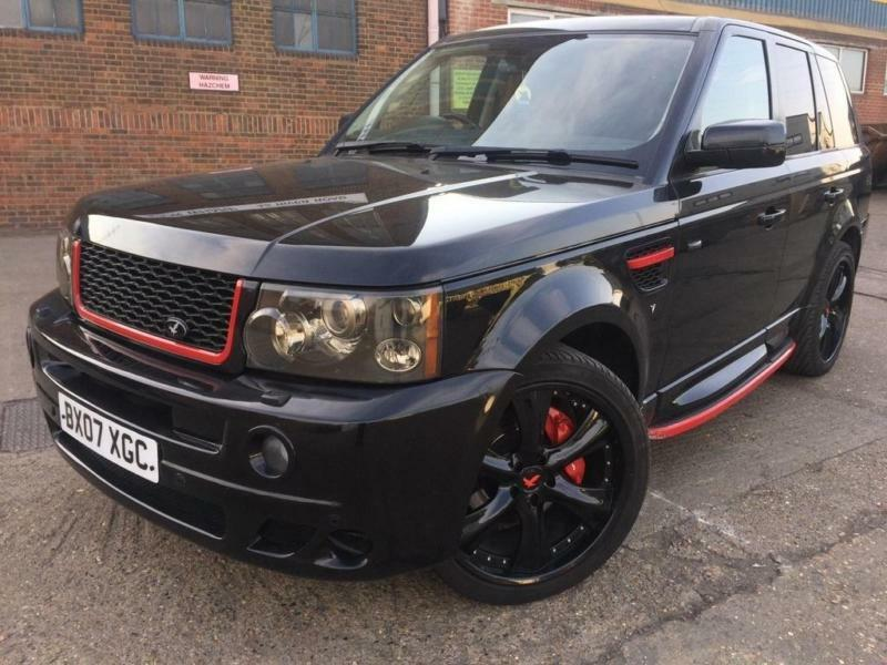 land rover range rover sport 3 6td v8 auto 2007 hse black vemiri body kit in barking london. Black Bedroom Furniture Sets. Home Design Ideas