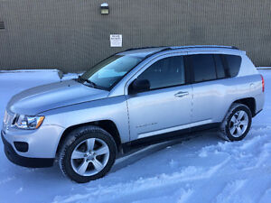 2013 JEEP COMPASS 4X4, NORTH EDITION, ONE YEAR WARRANTY