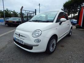 2009 Fiat 500 1.2 Lounge 3dr 2 former keepers,2 keys,12 months mot 3 door Hat...