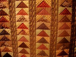 """Wall hanging - country decor art quilt """"Geese in Flight"""" Peterborough Peterborough Area image 2"""