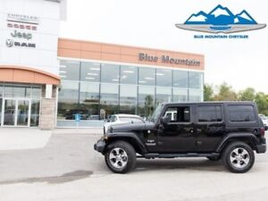 2017 Jeep Wrangler Unlimited Sahara  ACCIDENT FREE, WARRANTY!