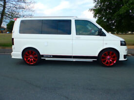 2008 58'reg VW Transporter T5 1.9 TDi **Full Side Conversion**
