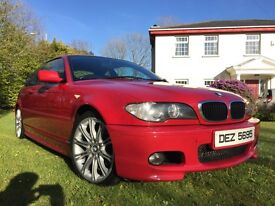 2005 BMW 320cd Sport (320d e46 Coupe Manual Imola Red)