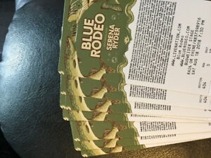 8 BLUE RODEO with Serena Ryder TICKETS!!!!