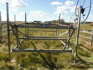 """2500 LB x 96""""  Wide CANTALEVER BOAT LIFT"""