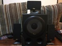 Cyber acoustic 100w computer speakers