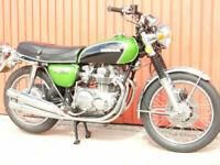 HONDA CB500 FOUR 1972 500cc in GREEN FABULOUS RESTORATION