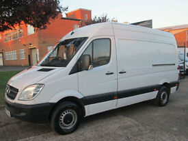 2007 57-REG Mercedes-Benz Sprinter 2.1TD 311CDI MWB HIGH ROOF. NICE CLEAN VAN.