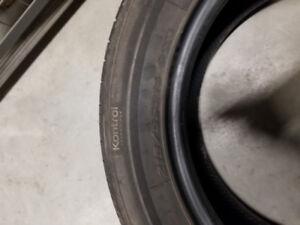 4 pneus 4 saisons hankook 215/55R16 93H NÉGO bon état