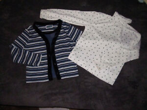 girls shirts set size 6