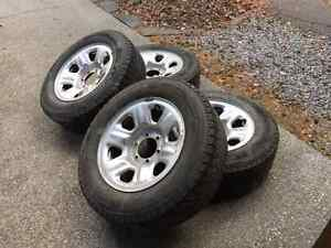 Toyota Steel Rims and Michelin Latitude X Ice 245/65R17 for Sale