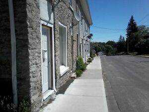 2 bedroom row house down town belleville